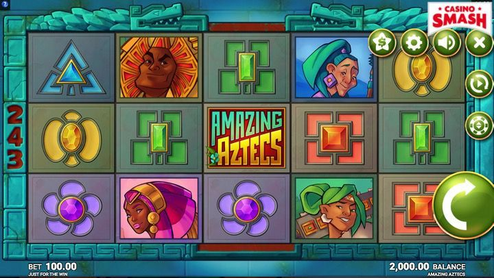 Amazing Aztecs is one of the most popular Slots to play in 2018