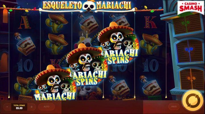 Esqueleto Mariachi popular slot games