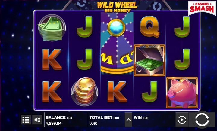 Wild Wheel popular casino slot machines