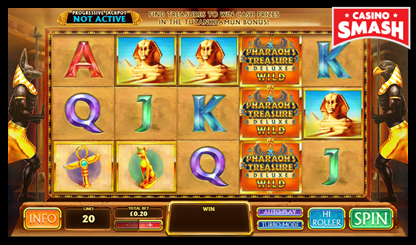 Pharaoh's Treasure Deluxe bitcoin games