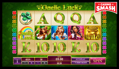 Gaelic Luck bitcoin games