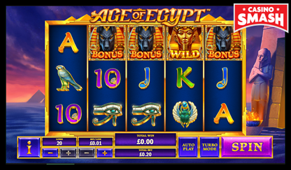 Age of Egypt Bitcoin games