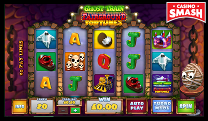 Ghost Train: Fairground Fortunes bitcoin games