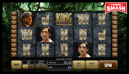 King Kong bitcoin games