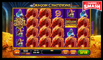 Dragon Champions bitcoin games