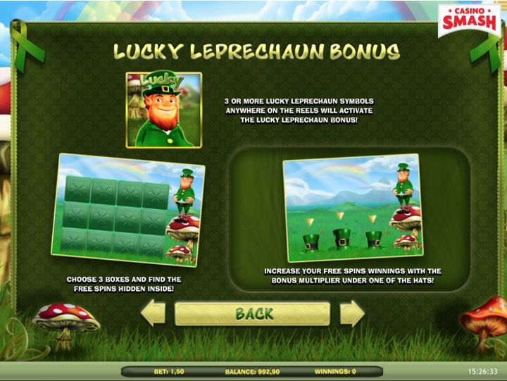 Lucky Leprechaun Game Bonus Round