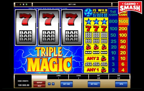The Best Classic Slots to Play Online: Triple Magic
