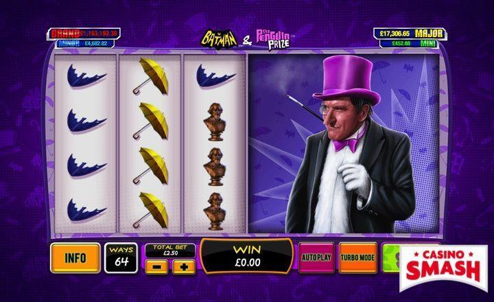 The Best Superhero Slots to Play Online: Batman & the Penguin