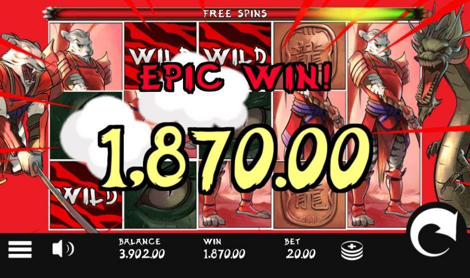 Samurai Ken Slot Machine