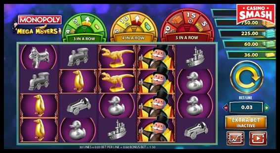 Monopoly: Mega Movers Slot