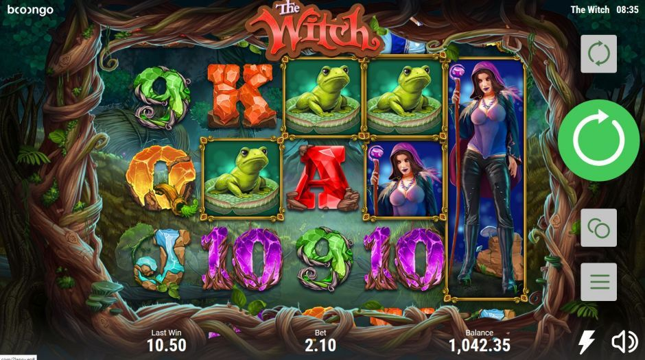 the witch booongo slot