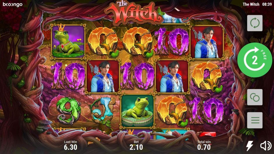 the witch by booongo free spins
