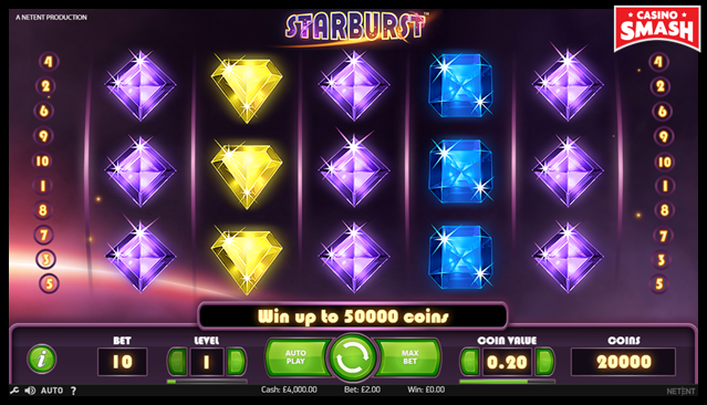 Online Slots Strategie starburst