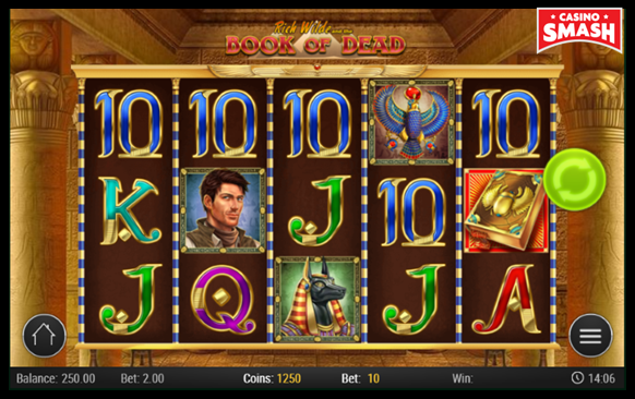 Online Slots Strategy book of dead