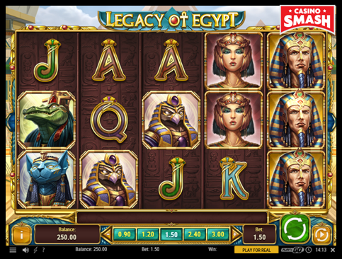 Online Slots Strategy legacy of egypt