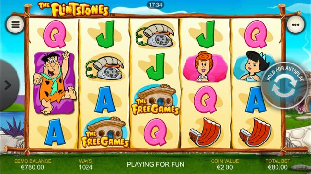 The Flinstones - Slot Machine Gratis Senza Scaricare