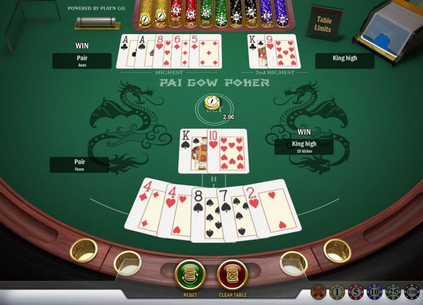 pai gow is one of my favorite easy to learn card games