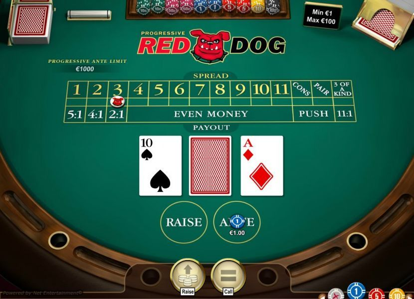 red dog is another easy card game to play