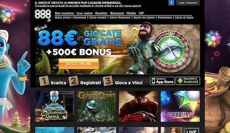 888Casinò Con Deposito Minimo Di 10 Euro