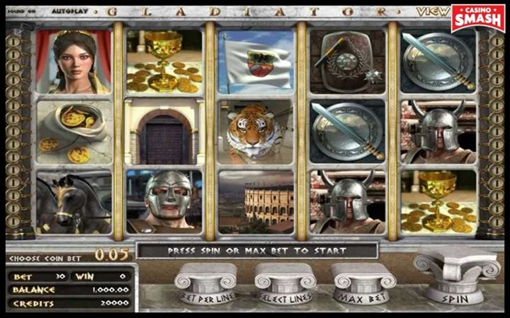 gladiator Movie-Themed Online Slots