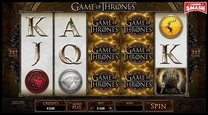 Game of Thrones Movie-Themed Online Slots