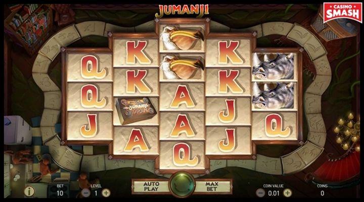 Jumanji Movie-Themed Online Slots