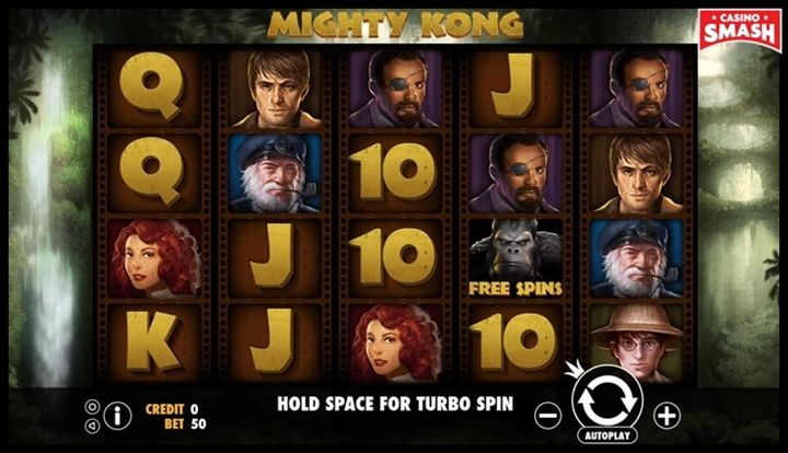 Mighty Kong Movie-Themed Online Slots