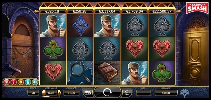 Holmes and the Stolen Stones Movie-Themed Online Slots
