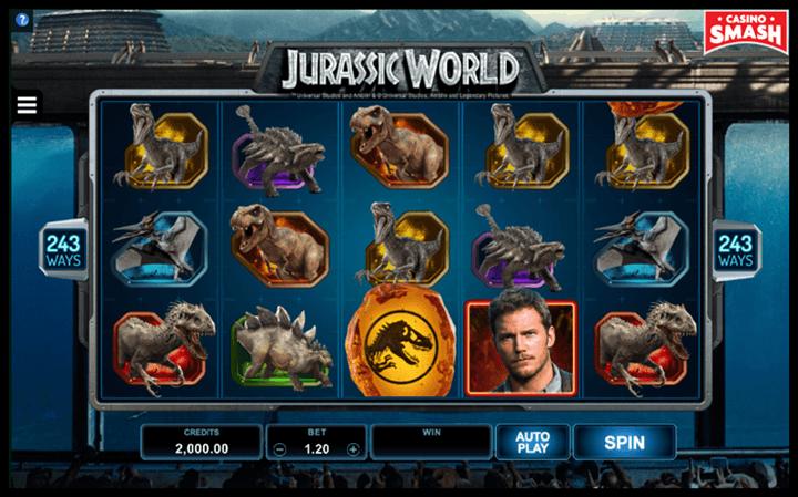 Jurassic World Movie-Themed Online Slots