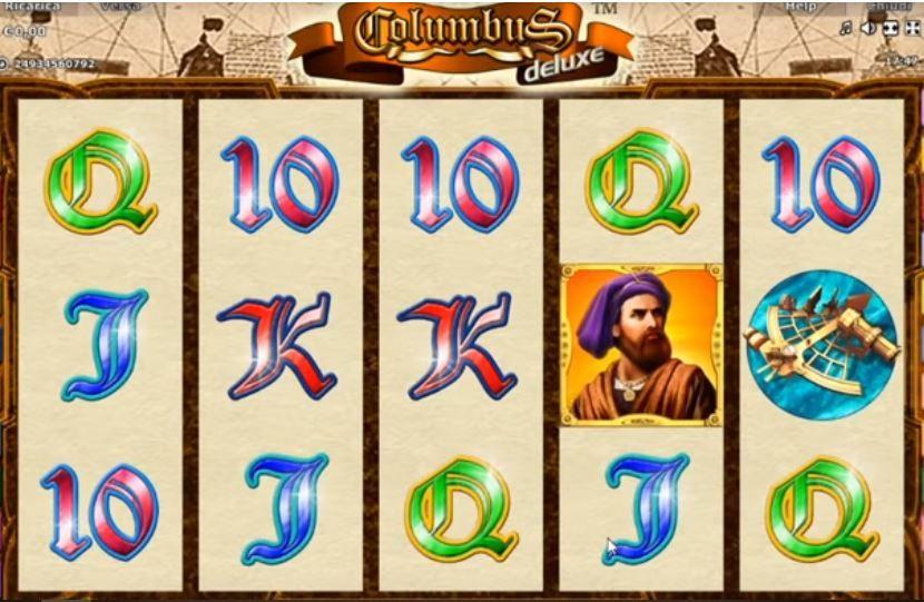 Slot machine a pagamento - Columbus