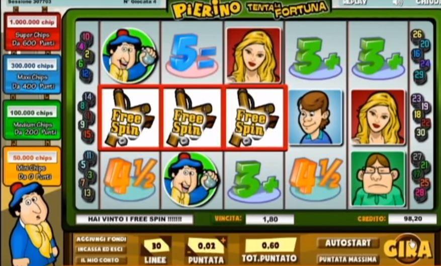 Pierino tenta la Fortuna - Come vincere a questa slot machine