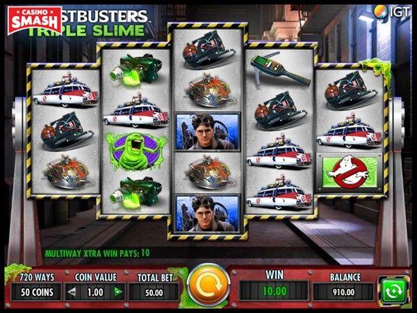 Ghostbusters: Triple Slime
