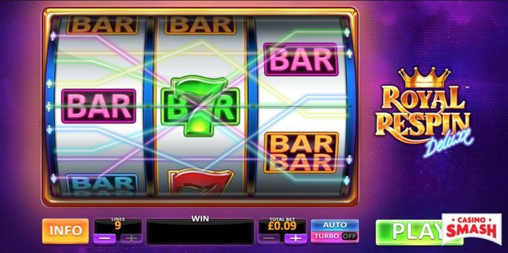 Play Royal Respin Deluxe Slot machine for real money