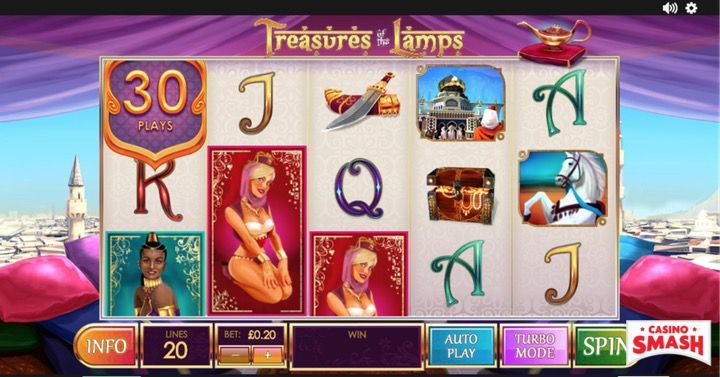 Treasure of the lamps is another great real money video Slot game