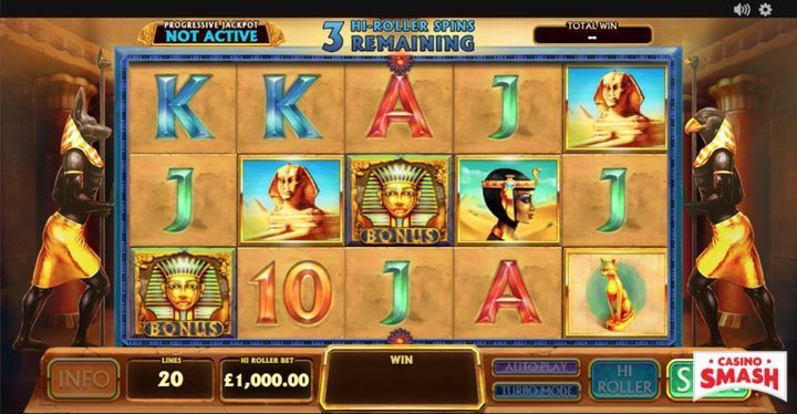 Pharaoh's Treasure Real Money Slot Machine