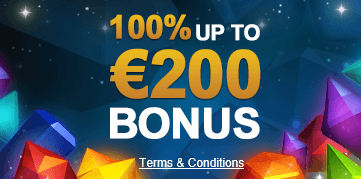 100% Bonus up To 200 Euro at VideoSlots Casino