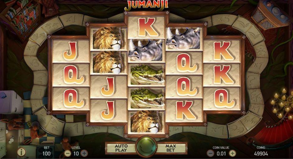 jumanji popular slots