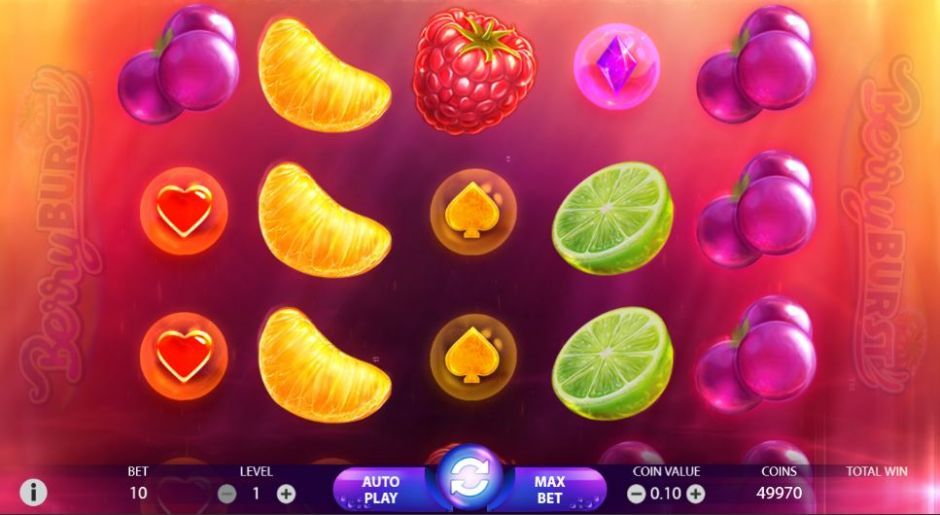 berryburst new popular slot
