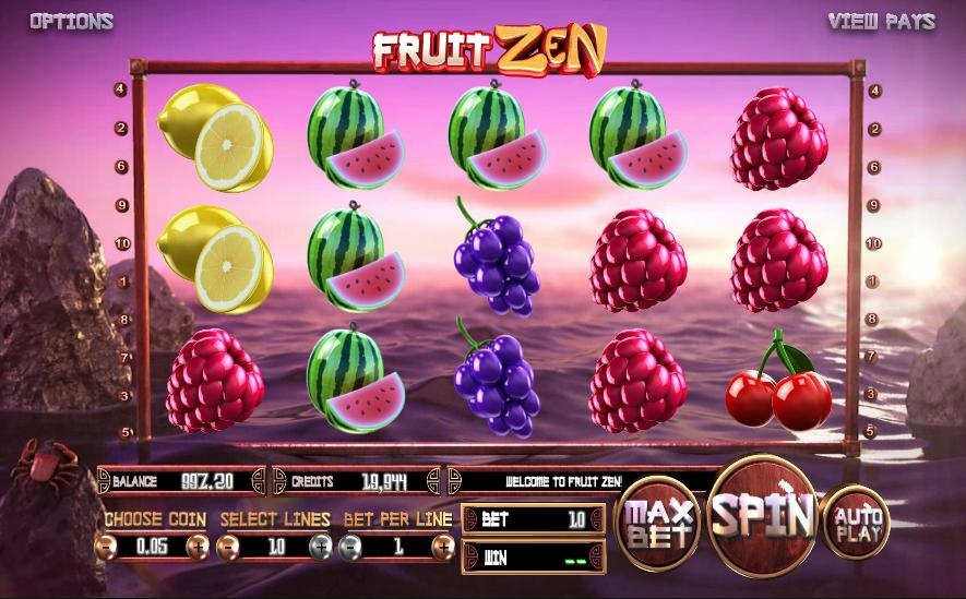 fruit zen slot machine