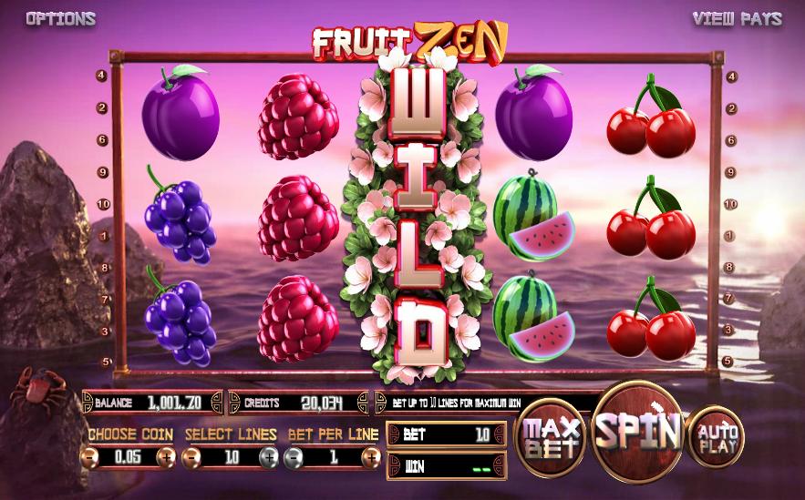 fruit zen wild symbol