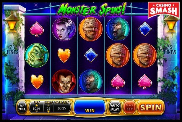 Monster Spins!