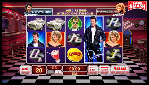 Grease 3D Slots Online