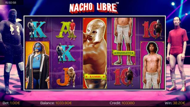 Nacho Libre 3D Slot