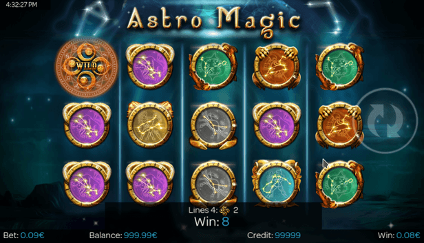 3D Slot online Astro Magic