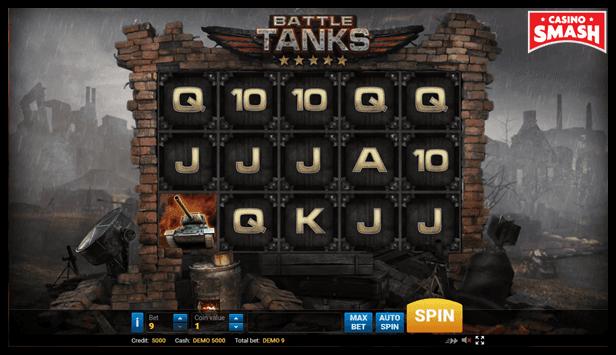 Battle Tanks Video Slot game