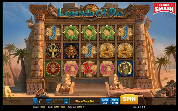 Legend of Ra Video Slot