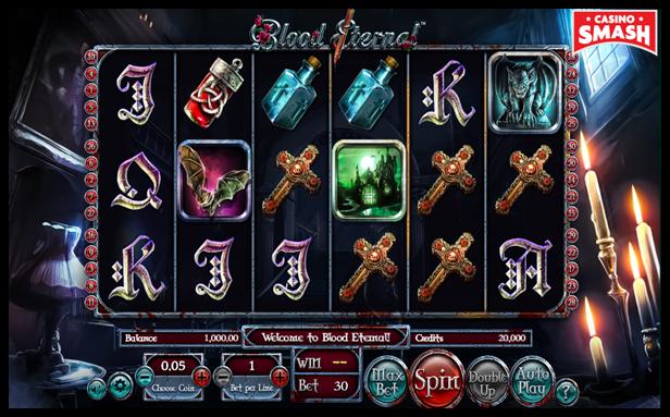 Blood Eternal Video Slot