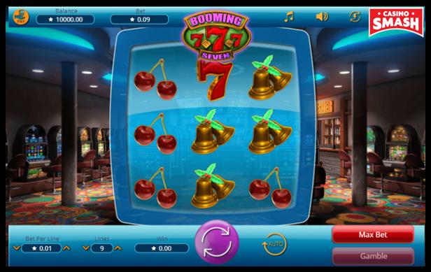Booming 777 Retro Slot Game