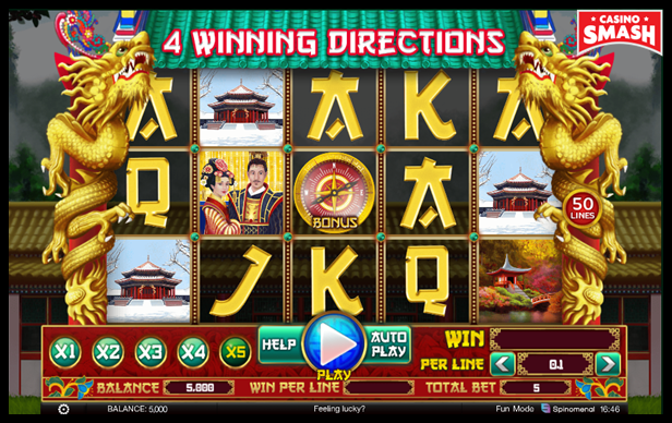 4 Winning Directions Video Slot