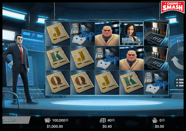 Agent X Mission Video Slot Game